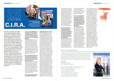 25 Jahre C.I.R.A. - Börse Social Magazine #09