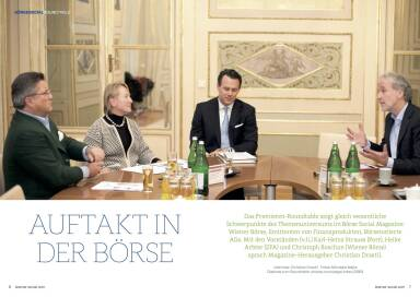 Börse Social Magazine #1 Roundtable 1/4