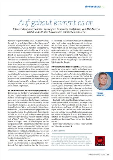 Auf gebaut kommt es an - Börse Social Magazine #06