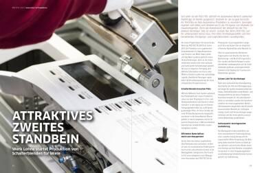 Polytec Geschäftsbericht 2013 - Attraktives zweites Standbein