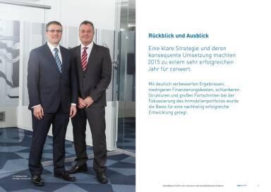 conwert Geschäftsbericht 2015 - Vorstand Wolfgang Beck, Thomas Doll