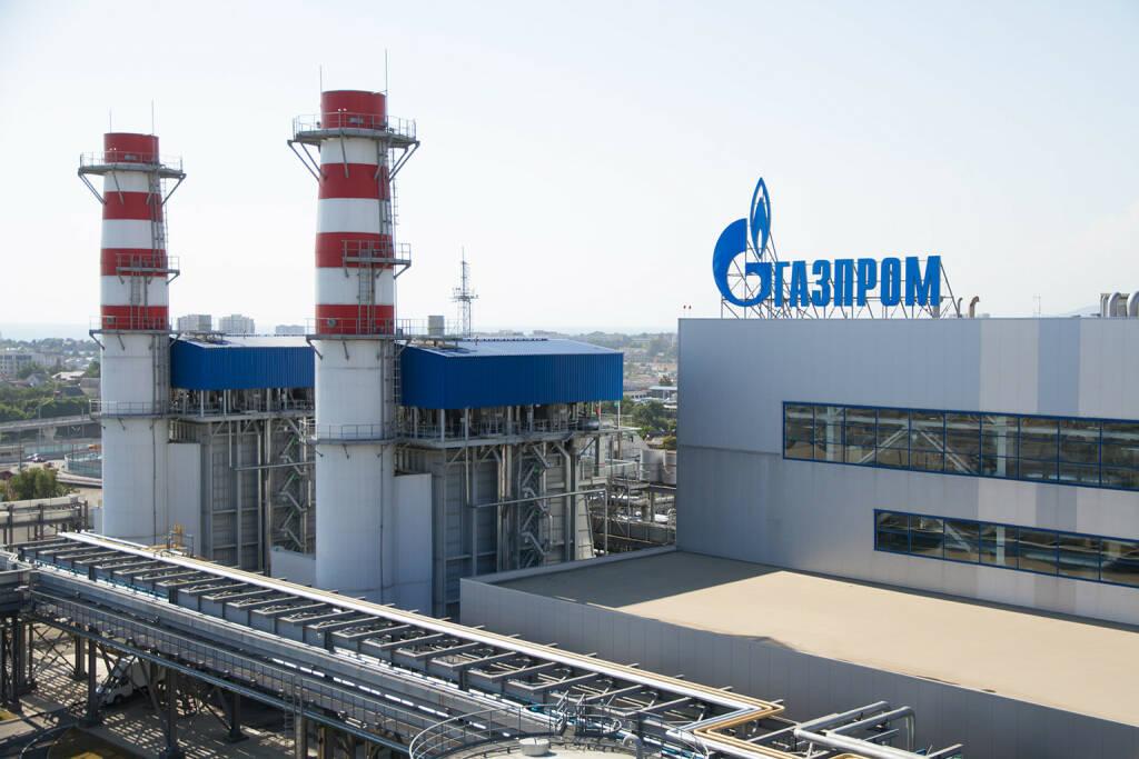 Börse Gazprom